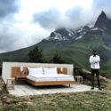 Пряка гледка към Алпите в нов хотел в Швейцария