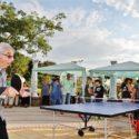Хайго игра тенис с инвалиди, раздаде им купи и медали в Тутракан