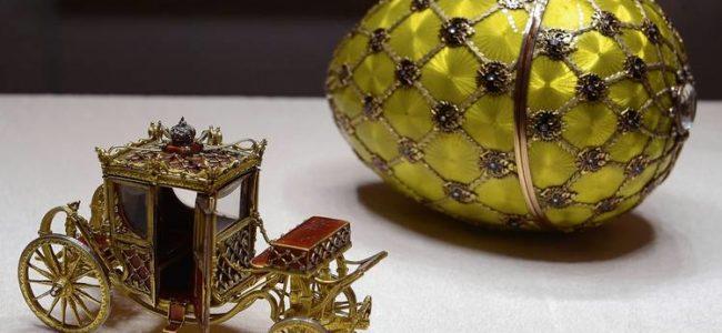 В САЩ показват непознати произведения на Фаберже