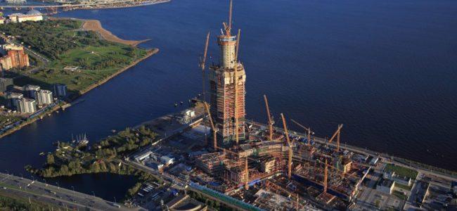 Новата най-висока сграда в Европа ще е в Русия