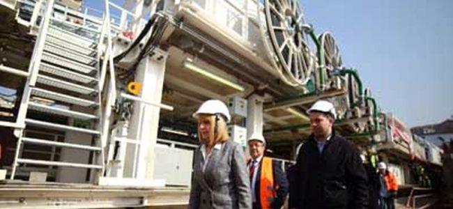 Започва копаенето за третия лъч на метрото от Красно село до Малък градски театър
