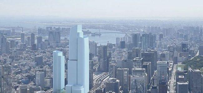 Най-високият японски небостъргач започва строеж в Токио