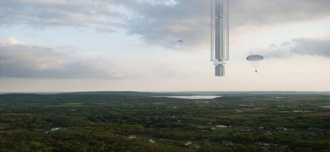 Висящ от астероид небостъргач планират в САЩ