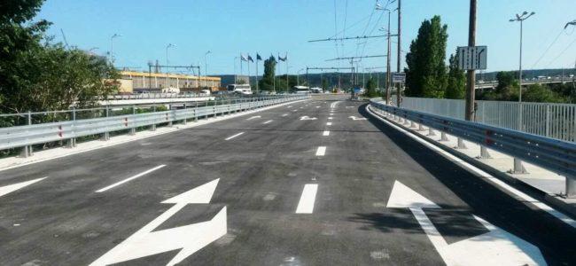 Днес пускат движението по ремонтирания Аспарухов мост във Варна