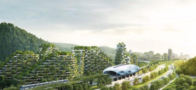 """Първият """"горски град"""" се строи в Китай"""