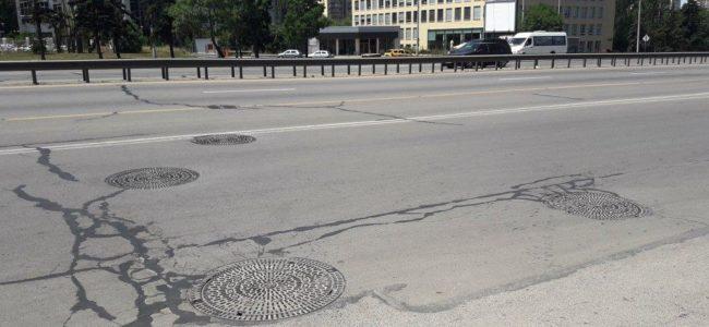 Ремонтират през август Цариградско шосе при Орлов мост