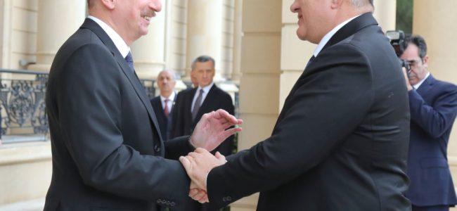 Борисов договаря съвместни инвестиции и търговия с Азербайджан
