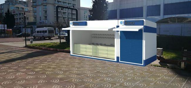 Еднакви павилиони ще заменят сергиите в Слънчев бряг-изток още това лято