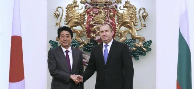 Поставяме приоритет на инвестициите, търговията, иновациите и науката с Япония