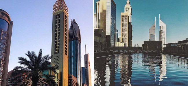 Най-високият хотел в света бе открит в Дубай