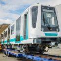 В София пристигна първият от новите влакове за метрото