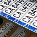 Възможно е да паднат буквите от регистрационните номера на автомобилите