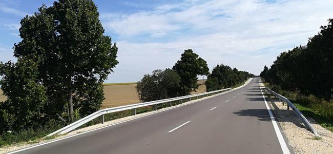 Завърши ремонтът на част от пътя между Варна и Добрич