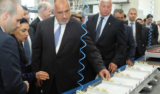 Премиерът откри нов завод за авиочасти край Пловдив