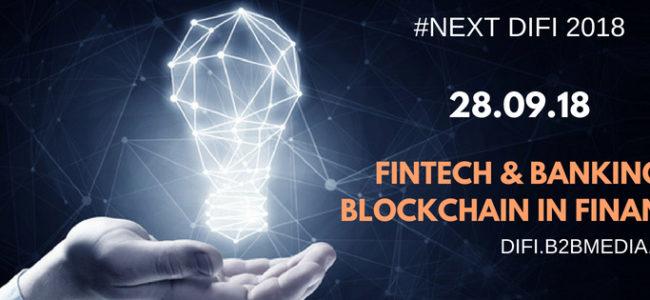 София пак е домакин на форума за дигитални финанси #NEXT DIFI 2018