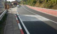 Нов асфалт и маркировка има на опасния участък от пътя Своге-София