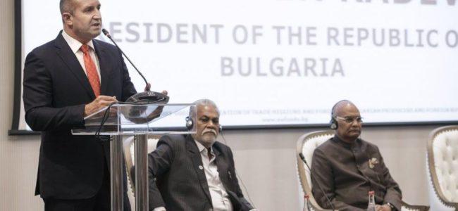 България и Индия имат голям потенциал за икономическо и търговско сътрудничество