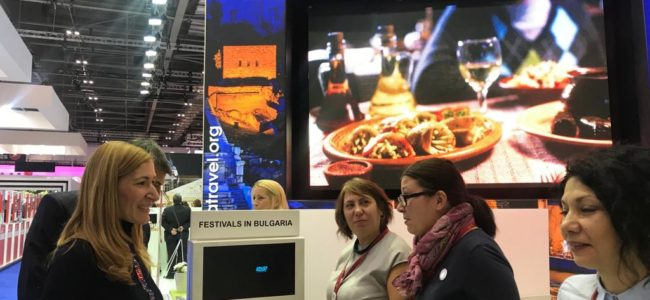Ангелкова откри българския щанд на WTM-Лондон
