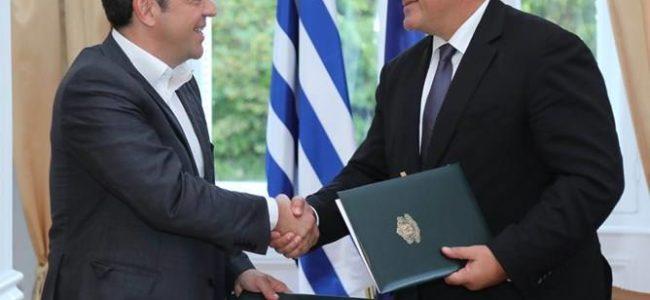 Борисов и Ципрас подписаха за развитие на жп-връзката Солун-Кавала-Александруполис -Бургас-Варна-Русе