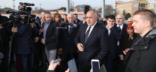 Борисов в Стара Загора: Изпълняваме ангажиментите си в пълен обем
