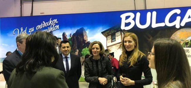 Николина Ангелкова откри българския щанд на ITB-Берлин 2019