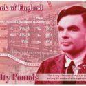 Слагат бащата на изкуствения интелект Алан Тюринг върху английска банкнота