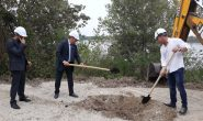 Кметът на Тутракан направи първа копка на нова пречиствателна станция